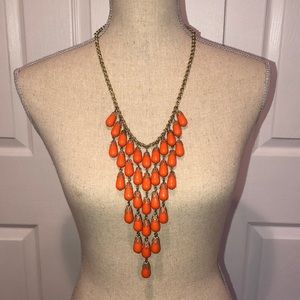 Banana Republic tiered statement necklace